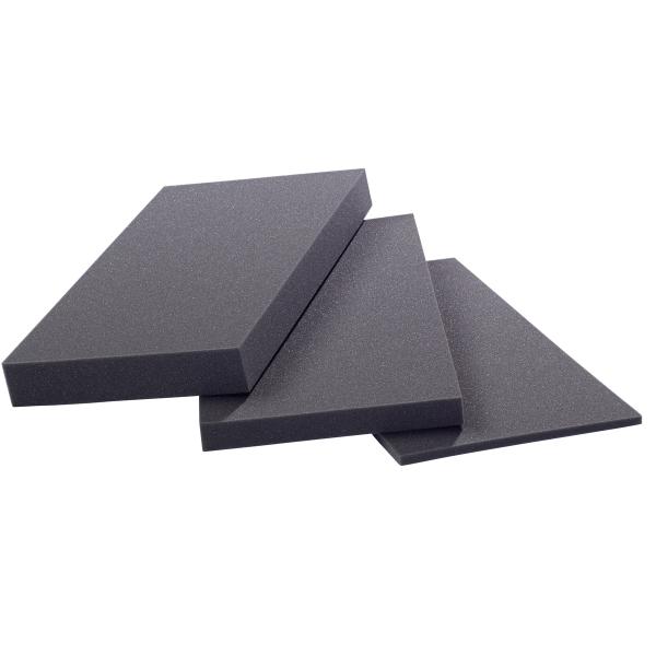 PE Schaumstoffplatte schwarz